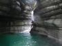 Canyoning in Val Noana Rio Neva